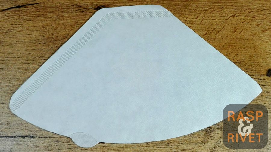 A Mastertons paper coffee filter