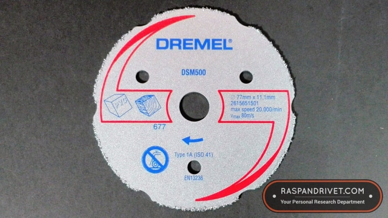 Dremel Saw Max wood and PVC cutting disc